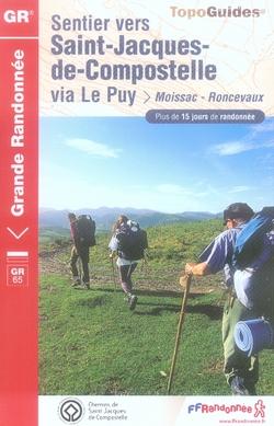 SAINT JACQUES MOISSAC RONCEVAUX 2007 -32-40-64-82 GR65-06