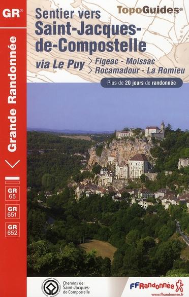 SAINT JACQUES FIGEAC MOISSAC 2008 - 46-47-82 - GR65 - 652