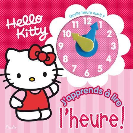 HELLO KITTY/J'APPRENDS A LIRE L'HEURE !