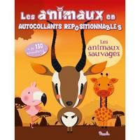 LES ANIMAUX EN AUTOCOLLANTS/LES ANIMAUX SAUVAGES