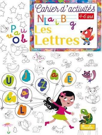 CAHIER D'ACTIVITES/LES LETTRES
