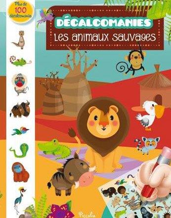 DECALCOMANIES/ANIMAUX SAUVAGES