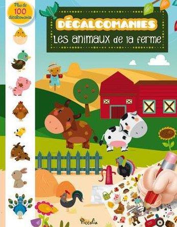 DECALCOMANIES/ANIMAUX DE LA FERME