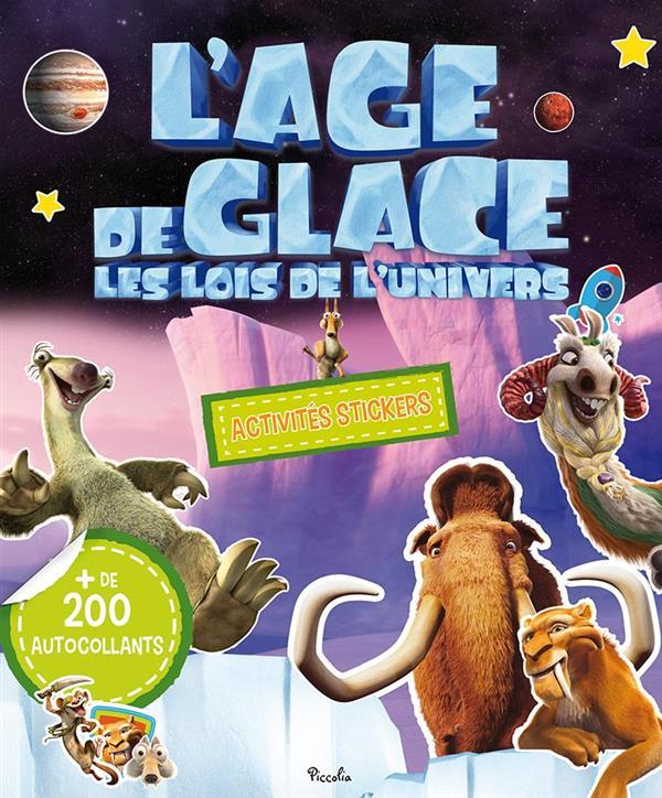 L'AGE DE GLACE/ACTIVITES STICKER - BLOC 200 AUTOCOLLANTS
