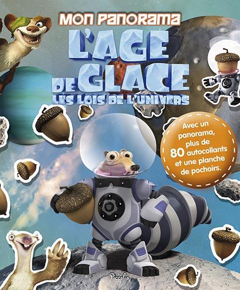 L'AGE DE GLACE/MON PANORAMA AVEC 80 AUTOCOLLANTS