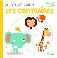 LIVRE QUI TOURNE/LES CONTRAIRES