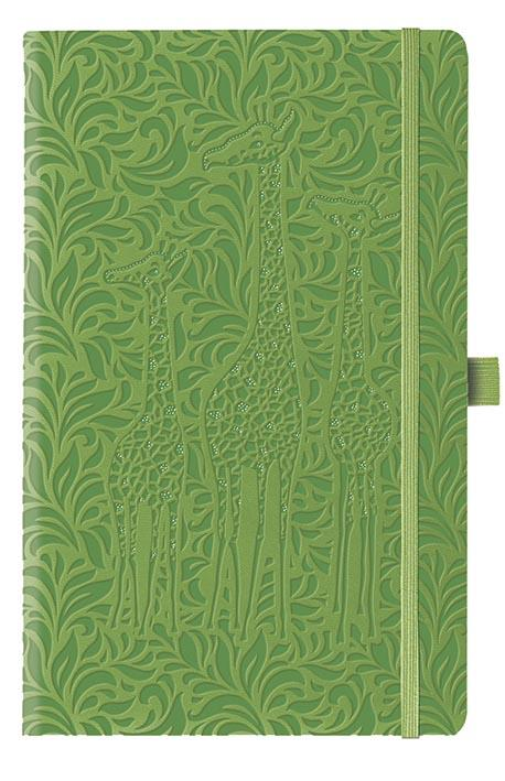IVORY COLLECTION/GIRAFE VERT FONCE