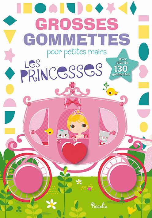 GROSSES GOMMETTES POUR PETITES MAINS/PRINCESSES