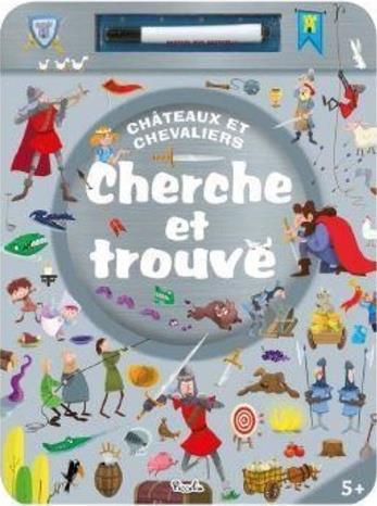CHERCHE ET TROUVE CHATEAUX ET CHEVALIERS