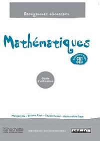 MATHEMATIQUES CE1/CE2 GUIDE D'UTILISATION