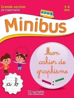 MINIBUS MON CAHIER DE GRAPHISME