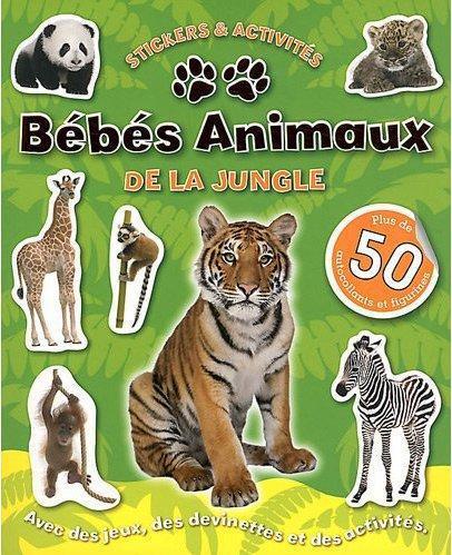 BEBES ANIMAUX DE LA JUNGLE