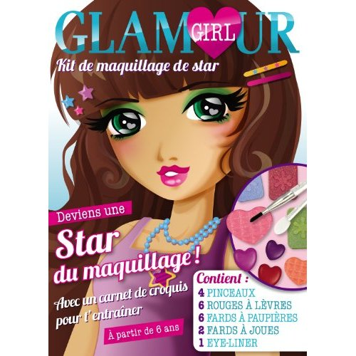GLAMOUR GIRL KIT DE MAQUILLAGE DE STAR