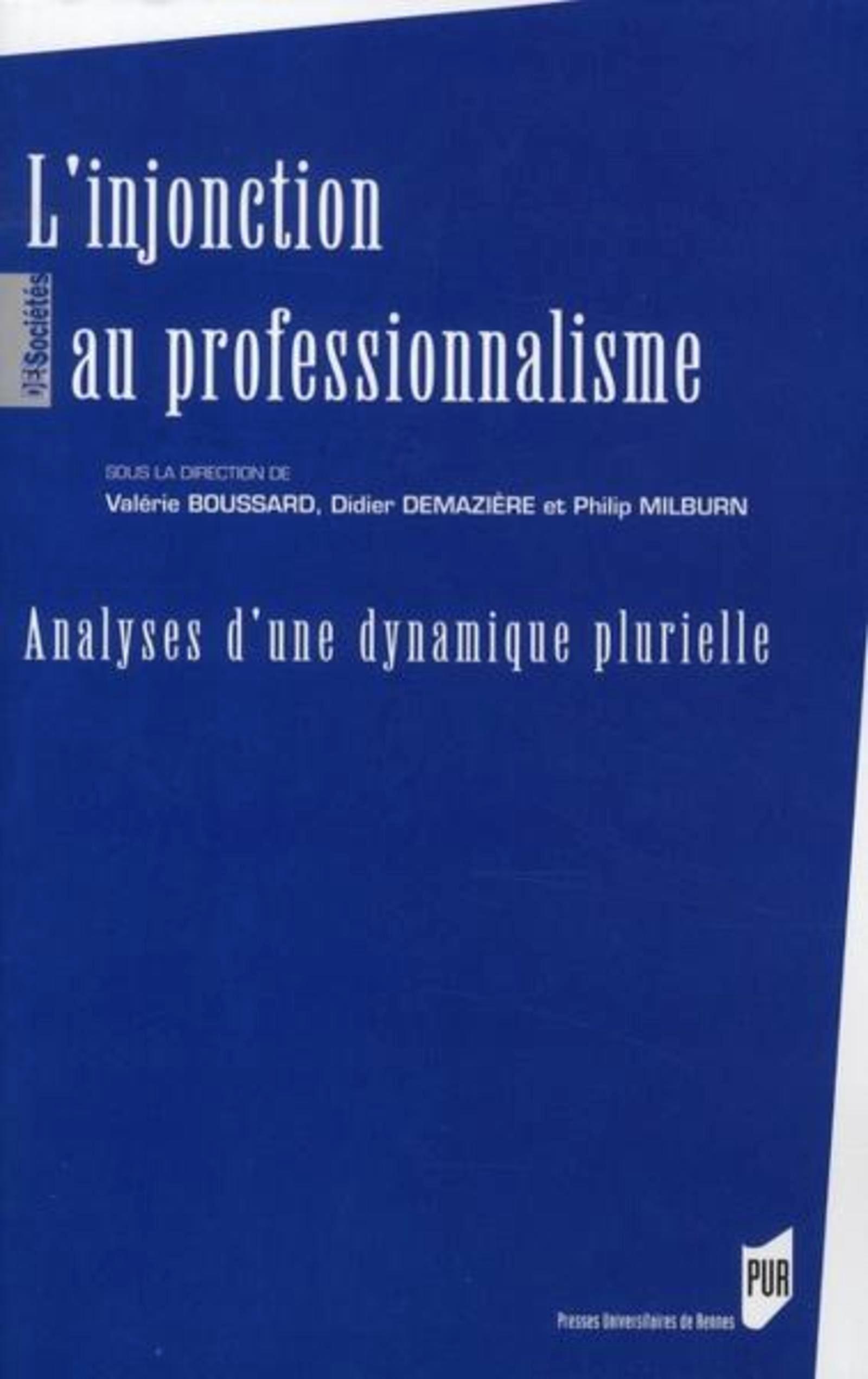 INJONCTION AU PROFESSIONNALISME