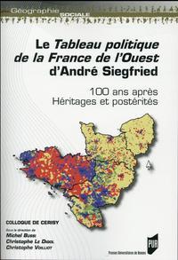 TABLEAU POLITIQUE DE LA FRANCE DE L OUEST D ANDRE SIEGFRIED