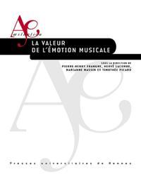 LA VALEUR DE L EMOTION MUSICALE