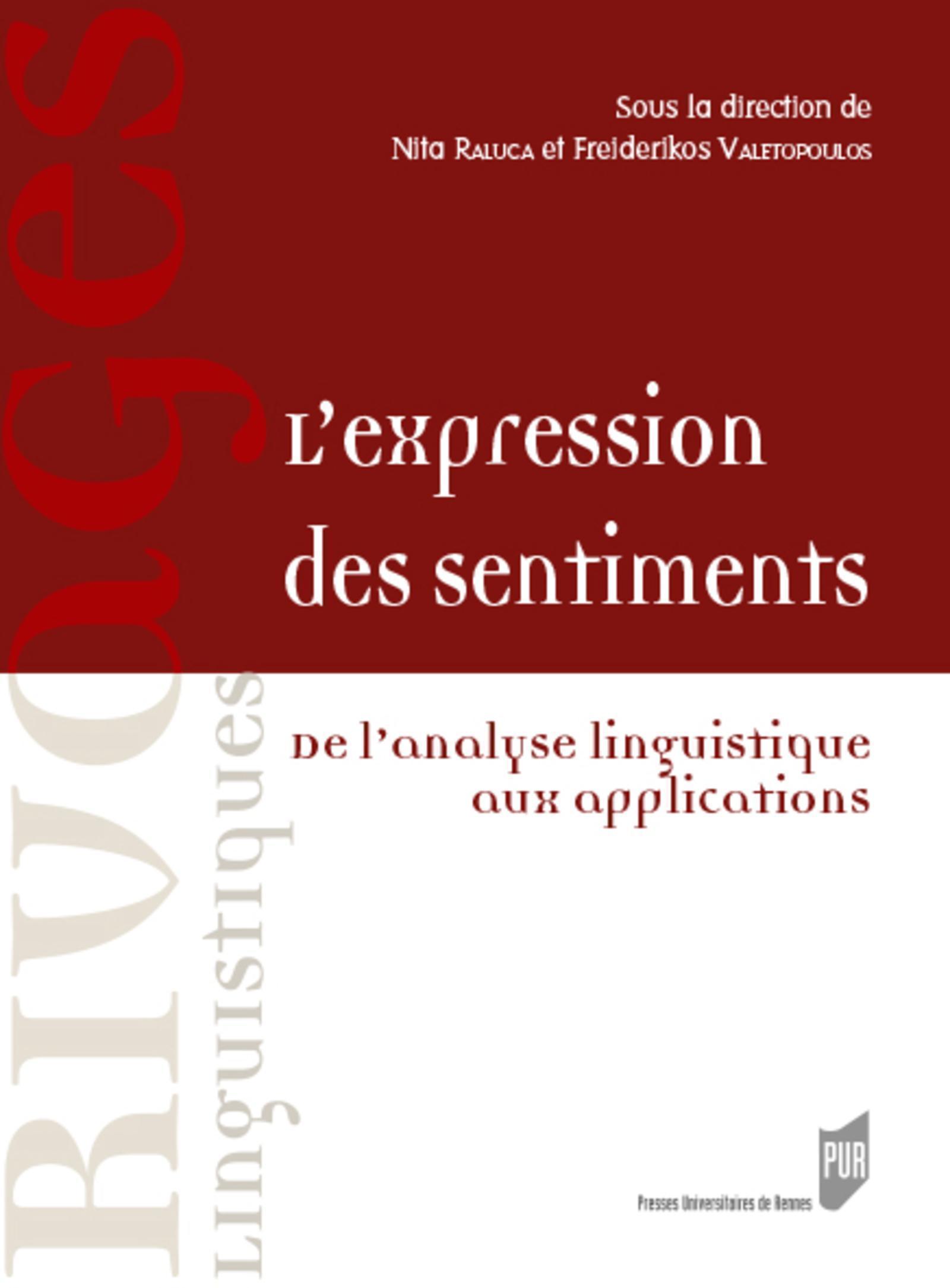 L EXPRESSION DES SENTIMENTS