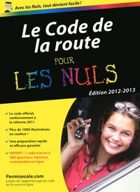 LE CODE DE LA ROUTE 2012 POCHE POUR LES NULS