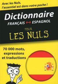 MINI-DICTIONNAIRE ESPAGNOL-FRANCAIS FRANCAIS-ESPAGNOL POUR LES NULS