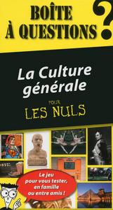 BOITE A QUESTIONS LA CULTURE GENERALE 4E EDITION