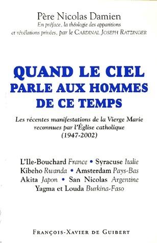 QUAND LE CIEL PARLE AUX HOMMES DE CE TEMPS