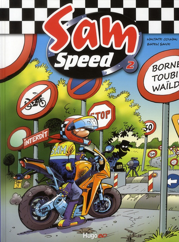 SAM SPEED TOME 2 BORNE TOUBI WAILD