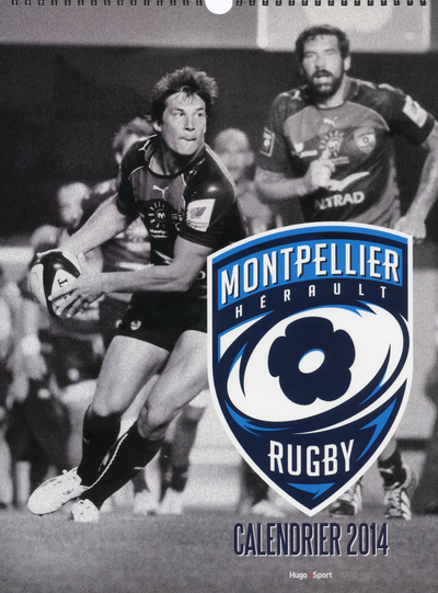 CALENDRIER MURAL MONTPELLIER RUGBY 2014