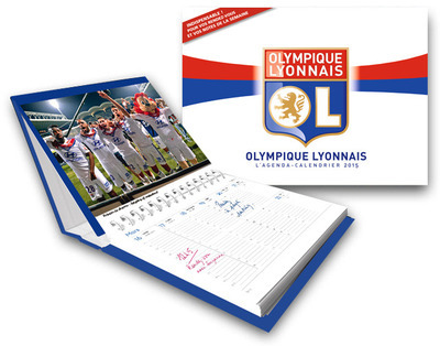 L'AGENDA-CALENDRIER OLYMPIQUE LYONNAIS 2015