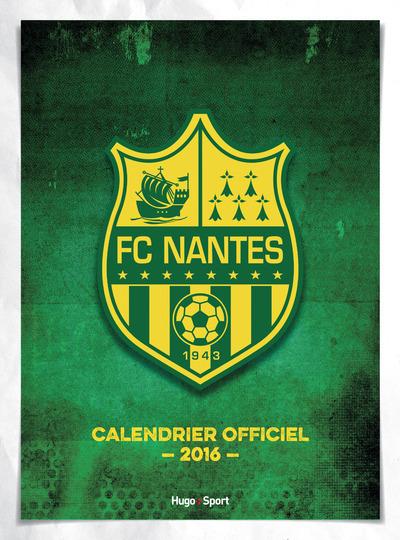 CALENDRIER MURAL FC NANTES 2016