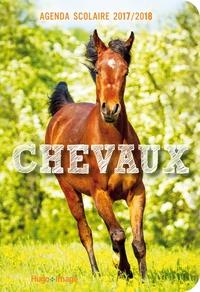 AGENDA SCOLAIRE 2017-2018 CHEVAUX