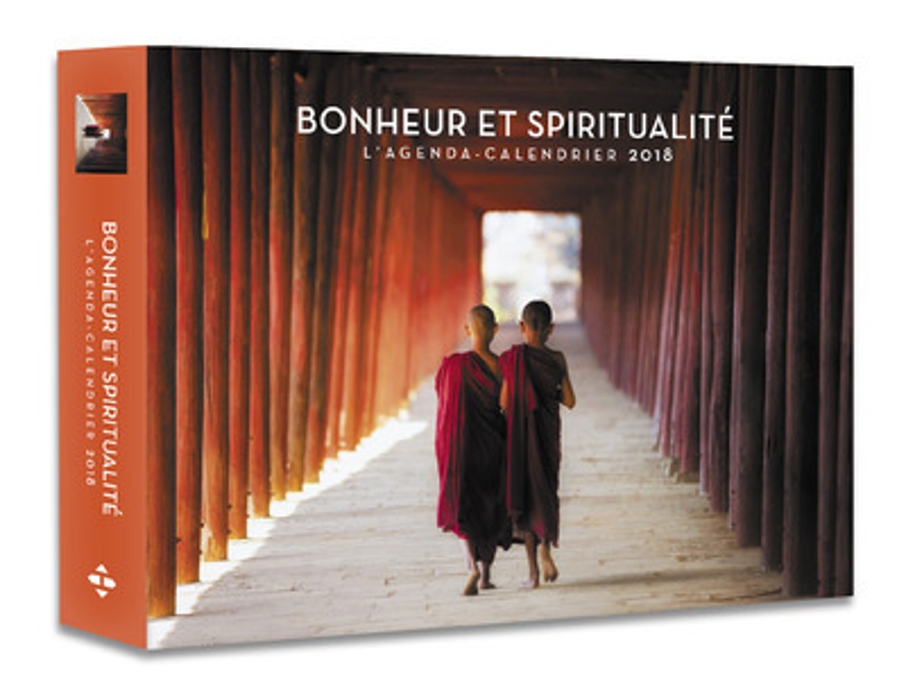 L'AGENDA-CALENDRIER BONHEUR ET SPIRITUALITE 2018