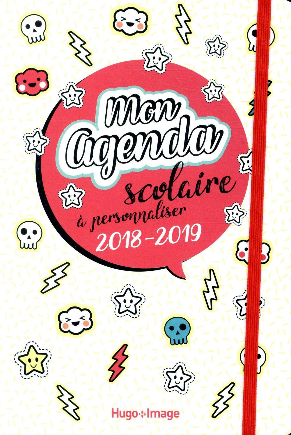 MON AGENDA SCOLAIRE A PERSONNALISER 2018-2019