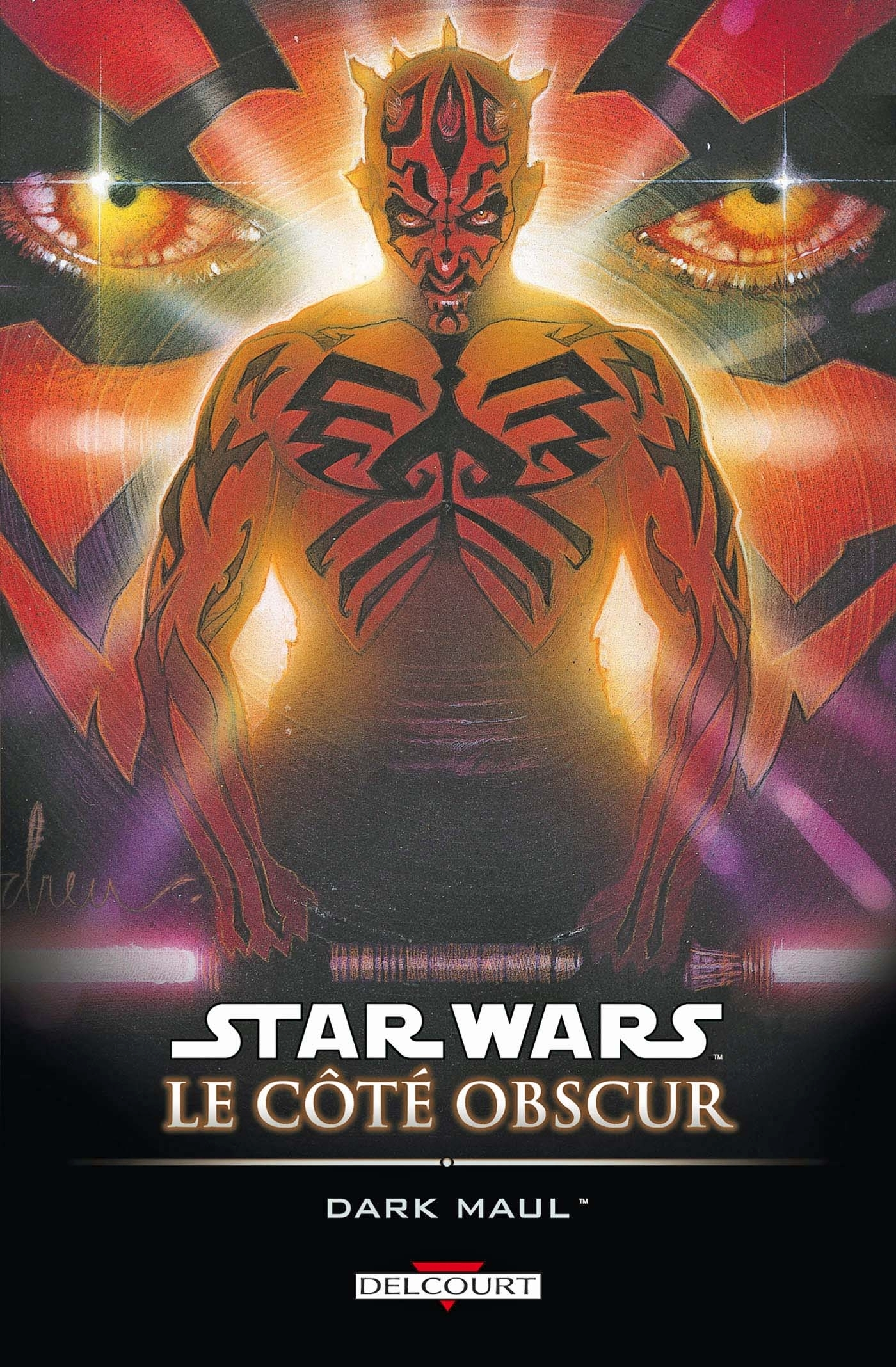 STAR WARS - LE COTE OBSCUR T02 - DARK MAUL (REEDITION)