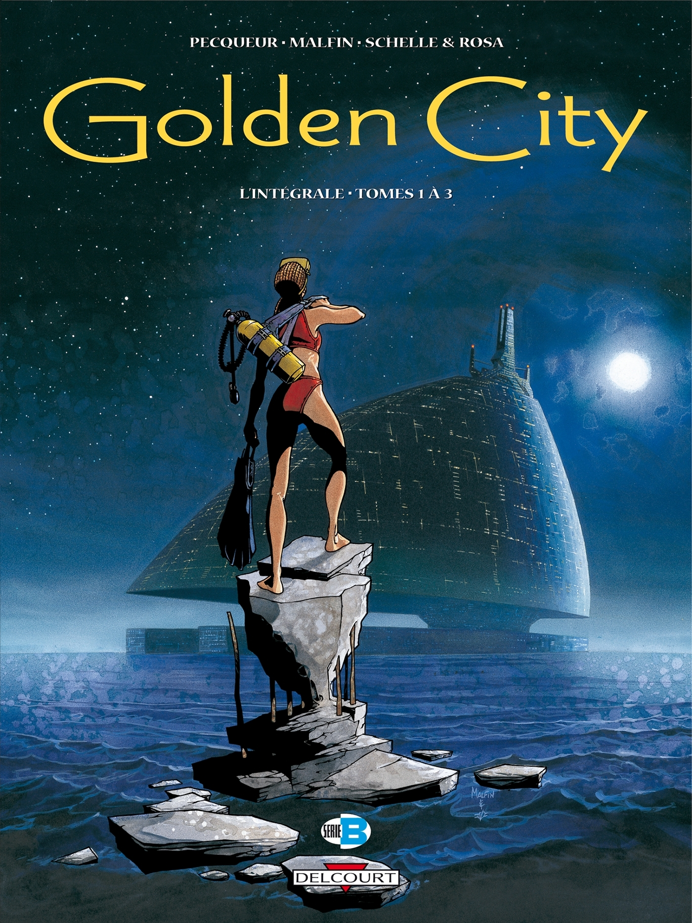 GOLDEN CITY - INTEGRALE (T01 A T03)