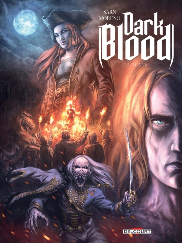 DARK BLOOD T01. HERITIERS DE SANG