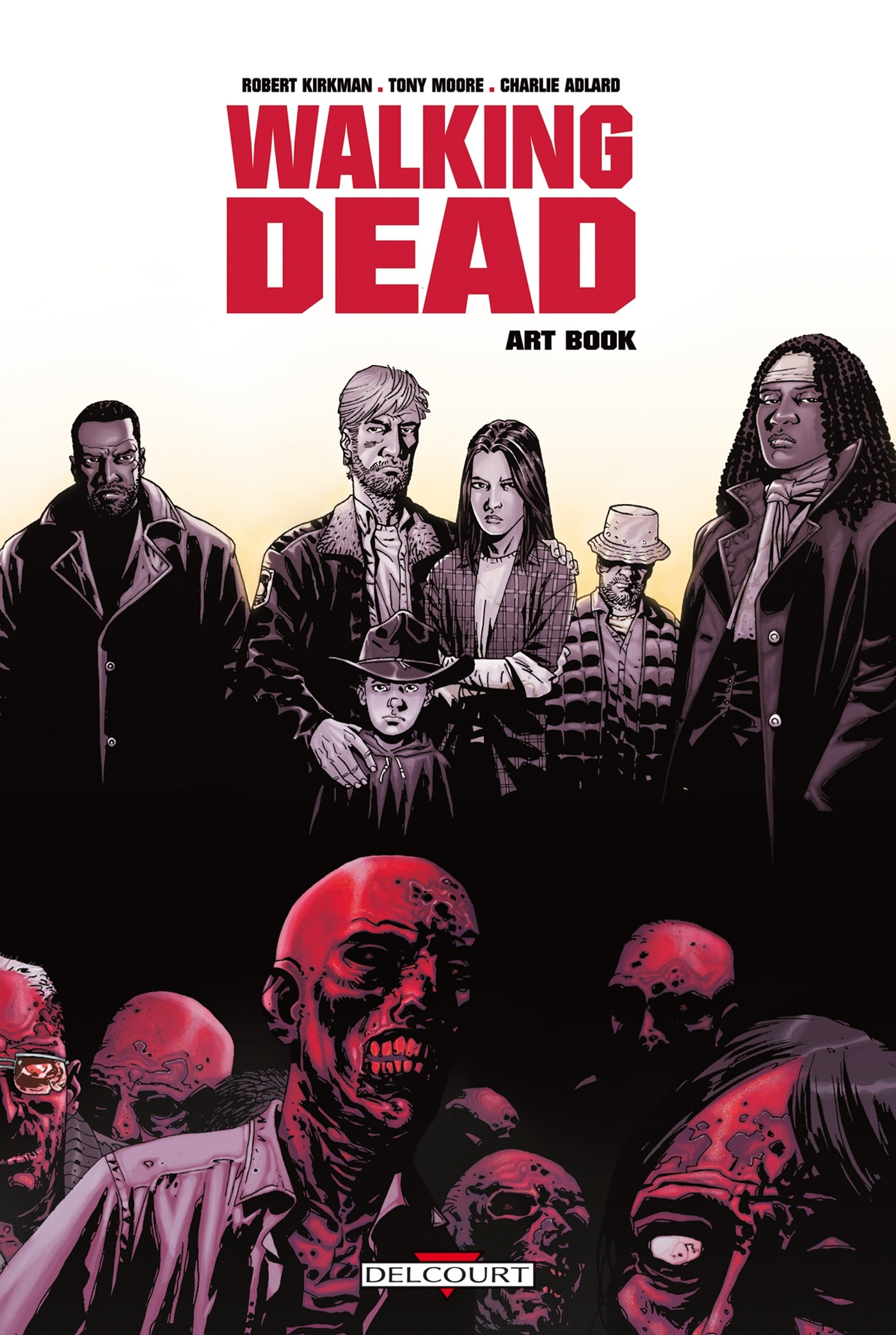 WALKING DEAD ART BOOK