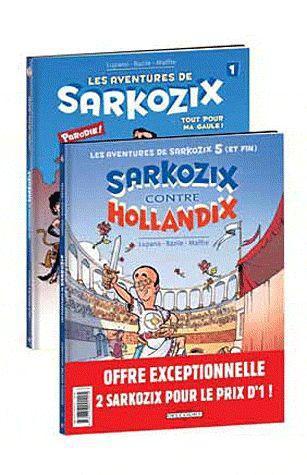 PACK - LES AVENTURES DE SARKOZIX T01+T05 GRAT