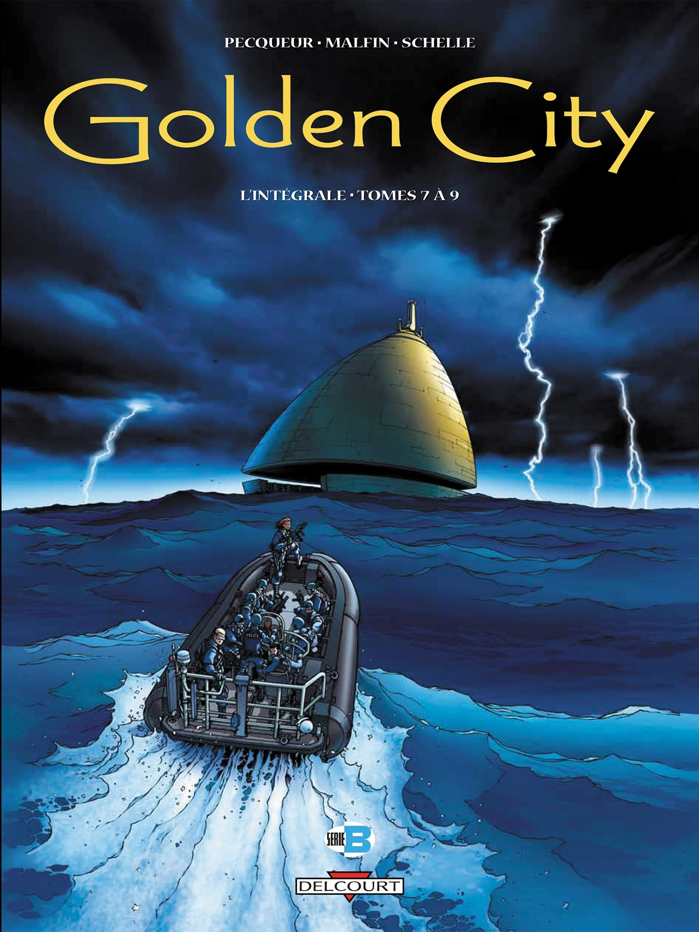 GOLDEN CITY - INTEGRALE (T07 A T09)
