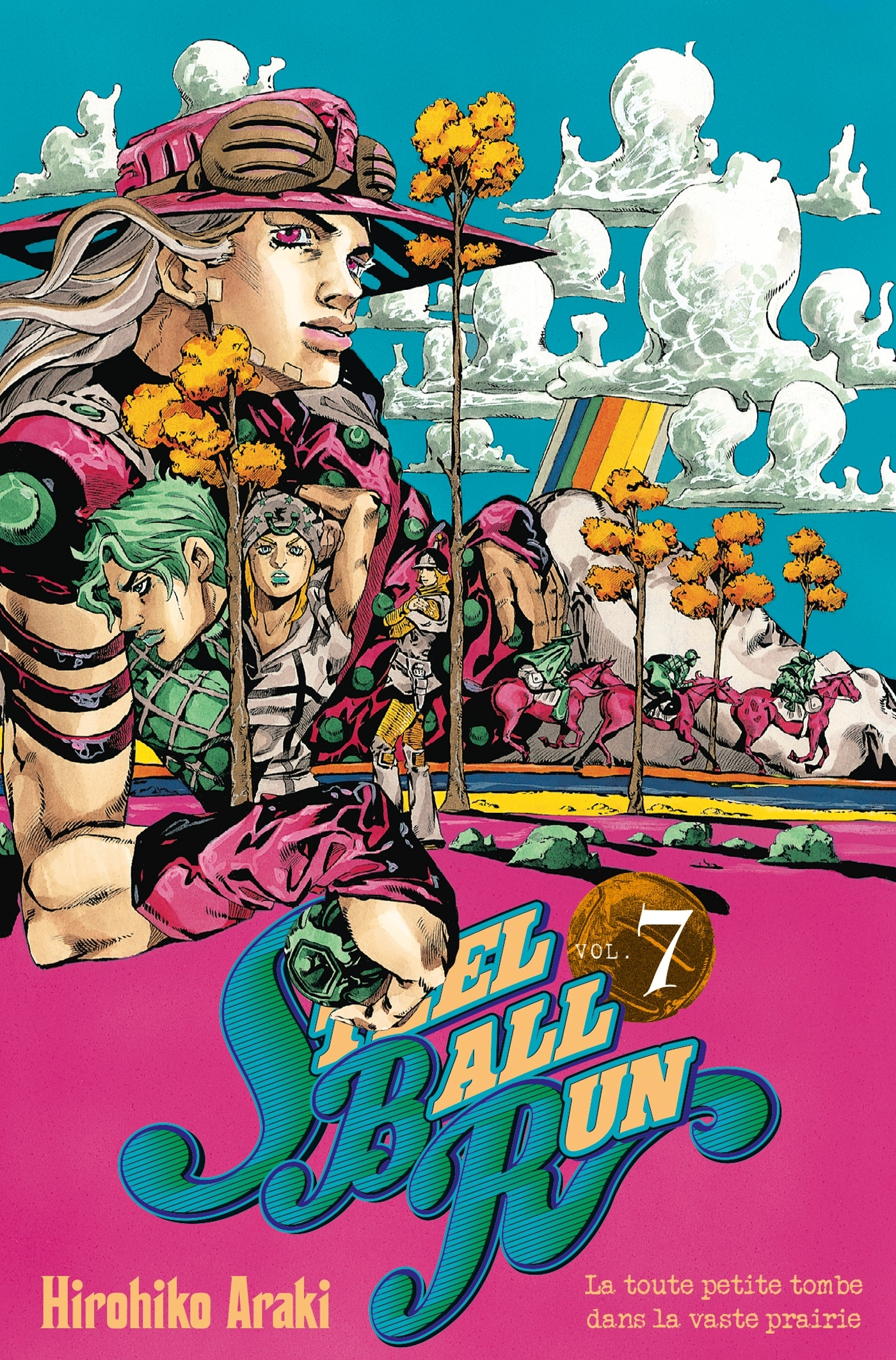 JOJO S - STEEL BALL RUN T07