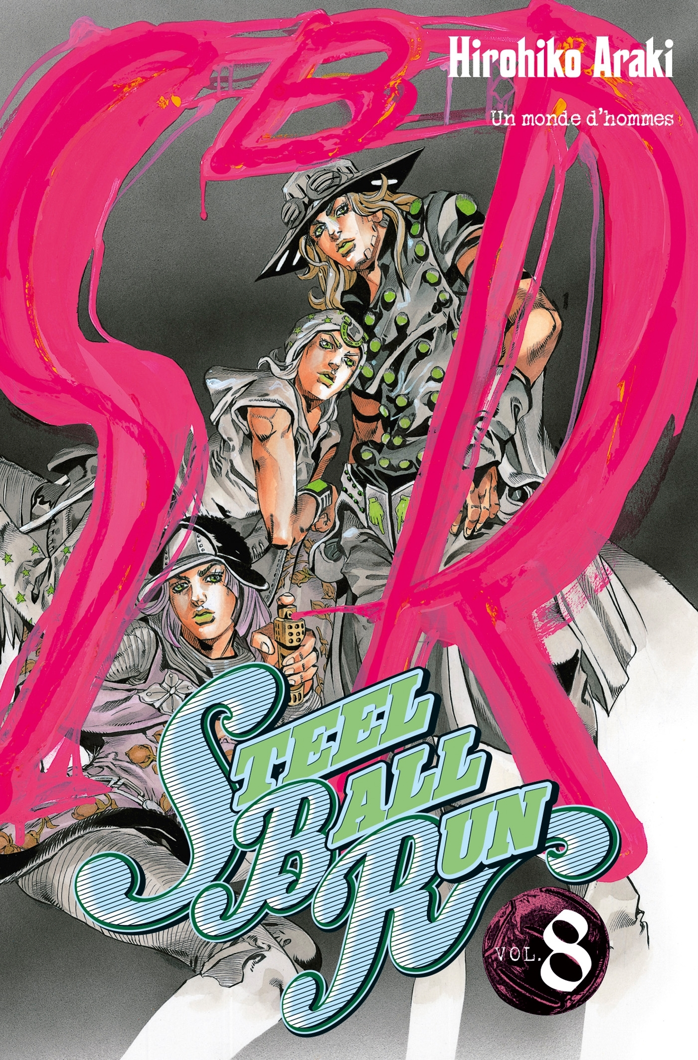 JOJO S - STEEL BALL RUN T08