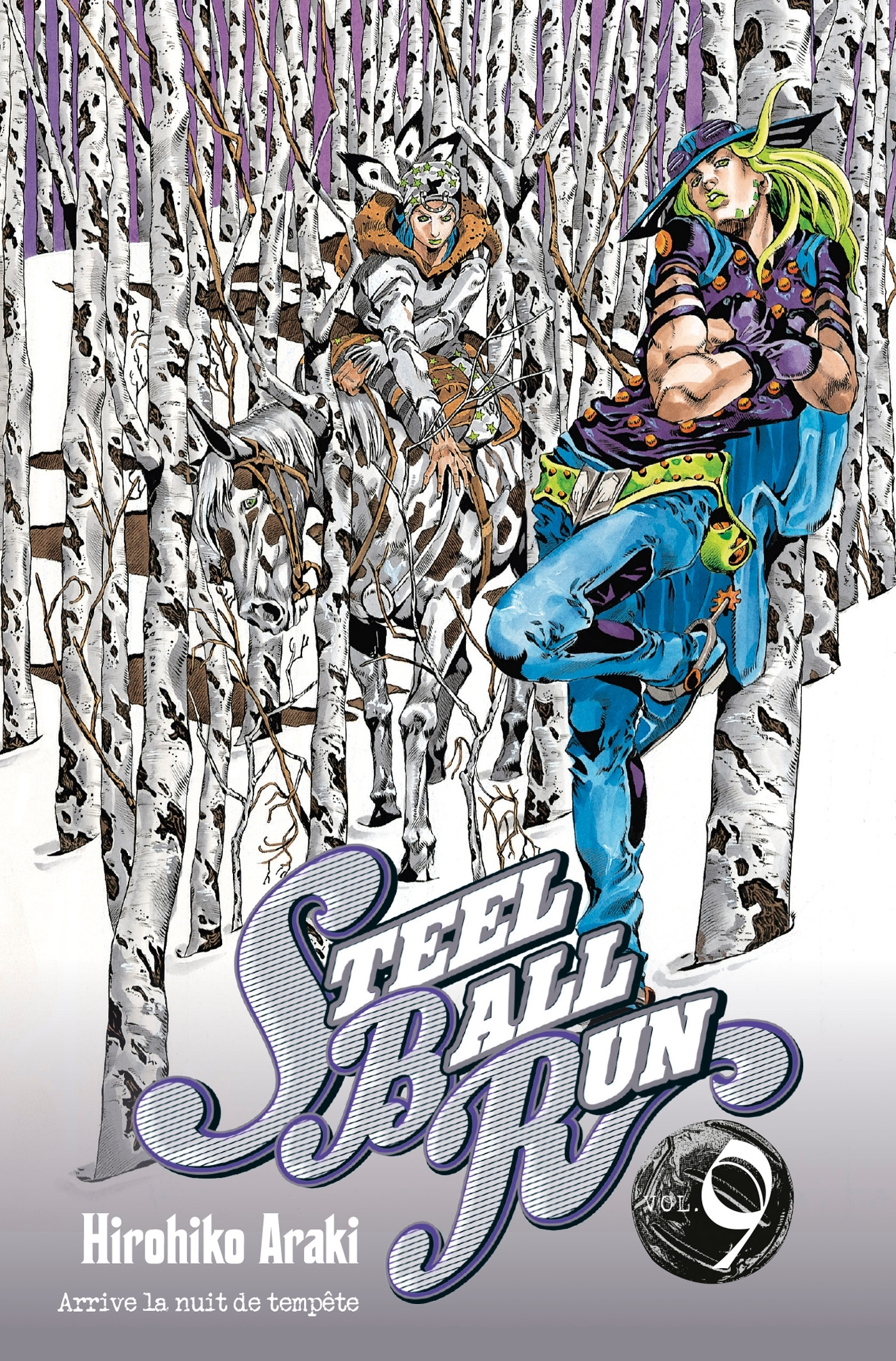 JOJO S - STEEL BALL RUN T09