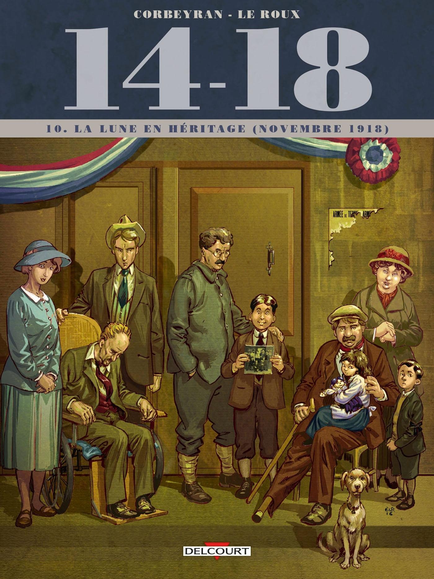 14-18 T10. LA LUNE EN HERITAGE (NOVEMBRE 1918)