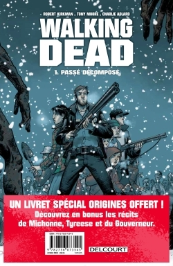 WALKING DEAD - PACK T1 + LIVRET RECITS COURTS