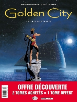 PACK SERIES - GOLDEN CITY T1+T2 +T3