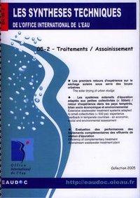 TRAITEMENTS / ASSAINISSEMENT (LES SYNTHESES TECHNIQUES DE L'OFFICE INTERNATIONAL DE L'EAU, EN 05-2)