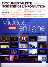 DOCUMENTALISTE SCIENCES DE L'INFORMATIONVOL 47 N  4 DECEMBRE 2010 DOSSIER VIDEOS EN LIGNE USAGES FOR