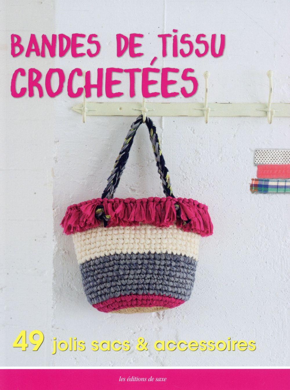 BANDES DE TISSU CROCHETEES
