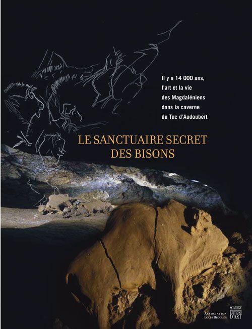 LE SANCTUAIRE SECRET DES BISONS - IL Y A 14000 ANS, DANS LA CAVERNE DU TUC D'AUDOUBERT...