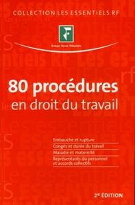 80 PROCEDURES EN DROIT DU TRAVAIL