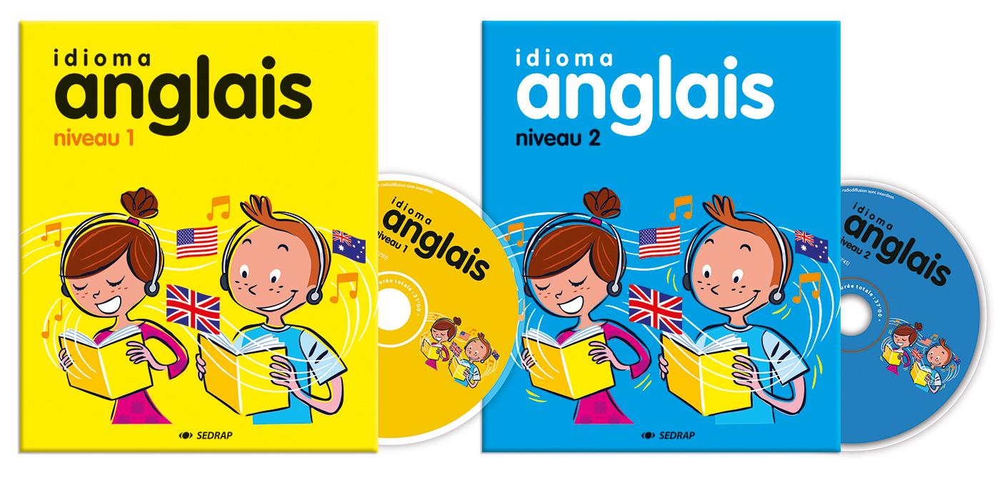 IDIOMA ANGLAIS (2 LIVRETS + 2 CD)